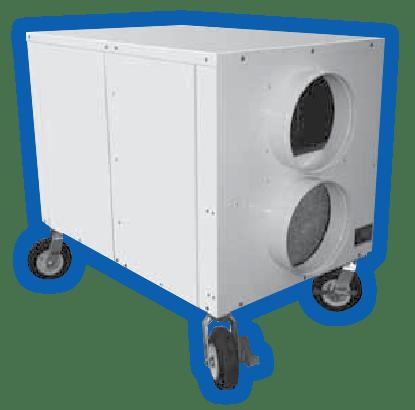 15-60 kW portable heating unit