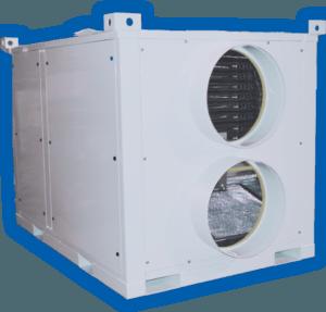150kw portable heating unit