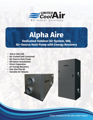 Alpha Aire Brochure Cover