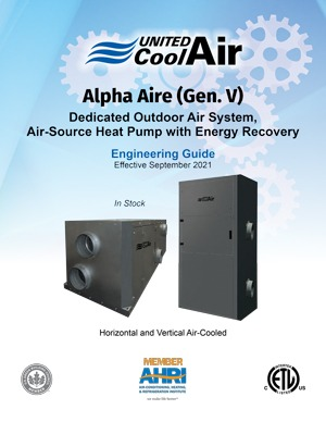 Alpha Aire Engineering Guide Cover