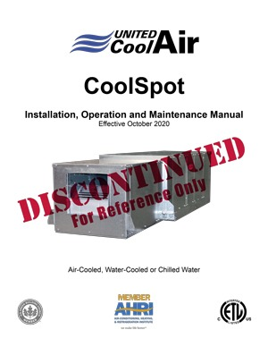 CoolSpot Installation Manual