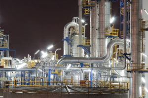 Picture of chemical plant