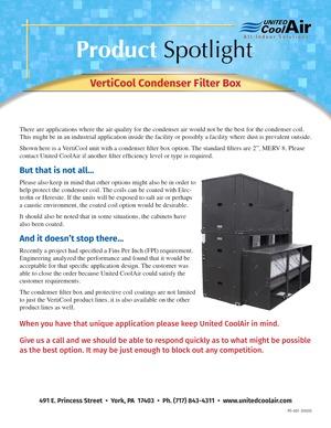 Condenser Filter Box