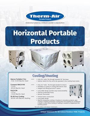 Horizontal Portable Cover