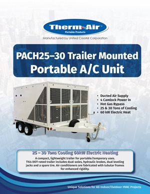 Trailer Mounted Flyer Cover