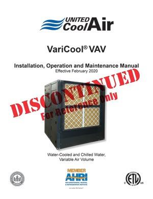 VariCool VAV Installation Manual