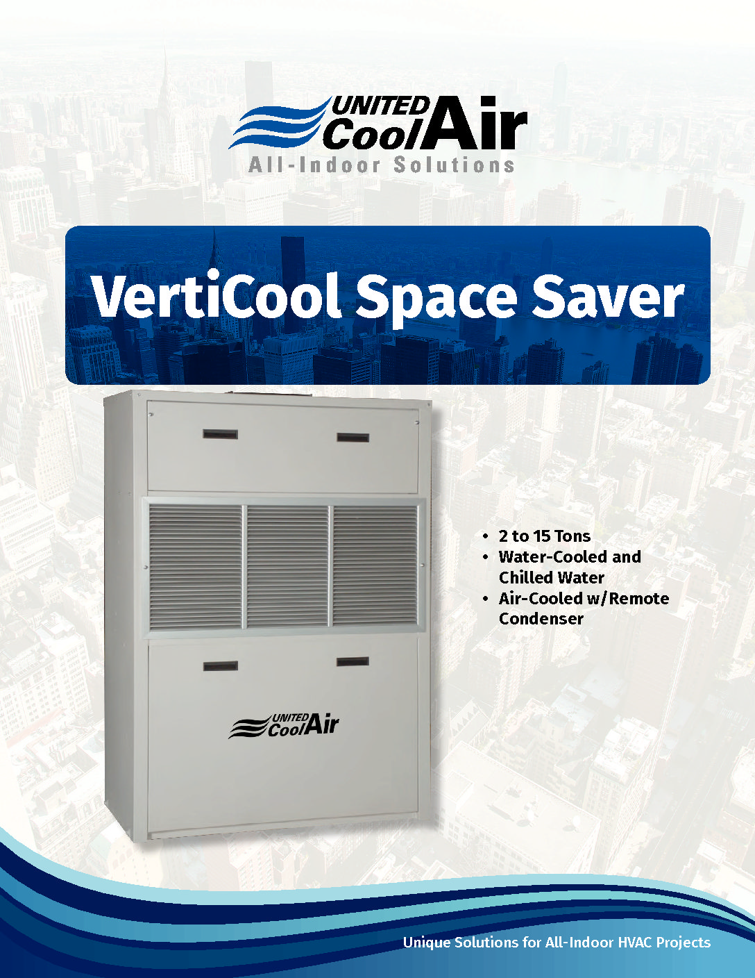 VertiCool Space Saver Brochure