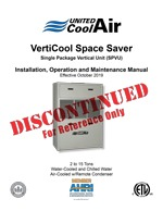 VertiCool Space Saver Installation Manual