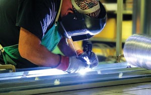 Welding at United CoolAir